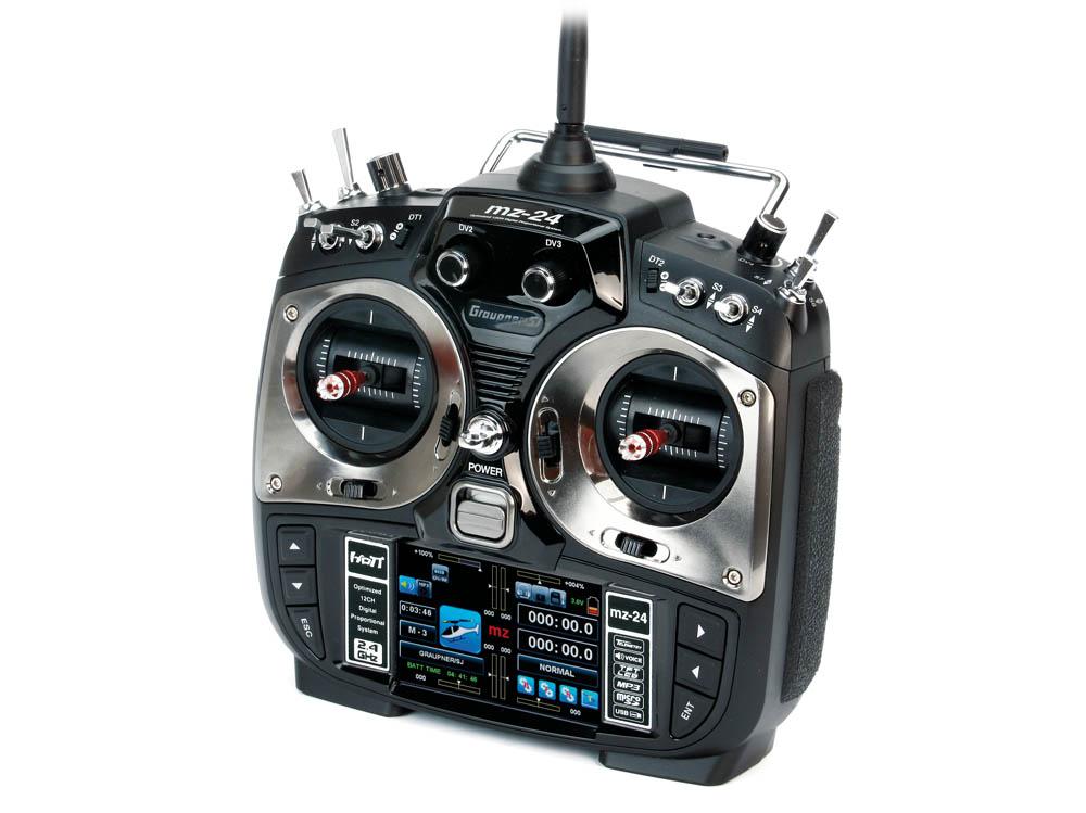 Graupner SJ MZ-24功能介绍及滑翔机设置