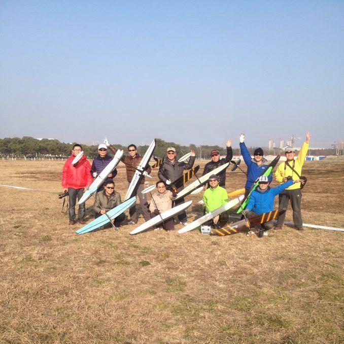 2014 阳澄湖F3K联赛1月-热身赛照片
