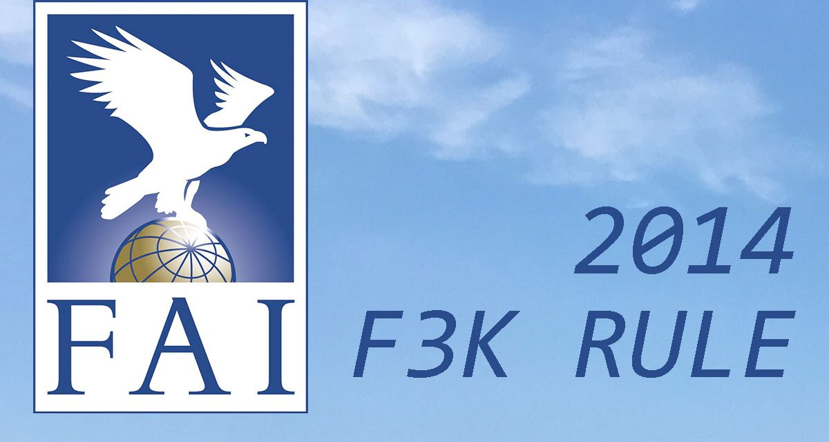 2014 F3K-HAND LAUNCH GLIDERS